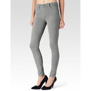 Paige Hoxton High Waist Grey Skinny Jeans